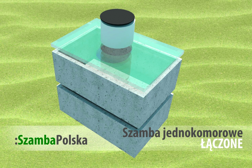 Szamba betonowe jednokomorowe łączone z SzambaPolska.pl