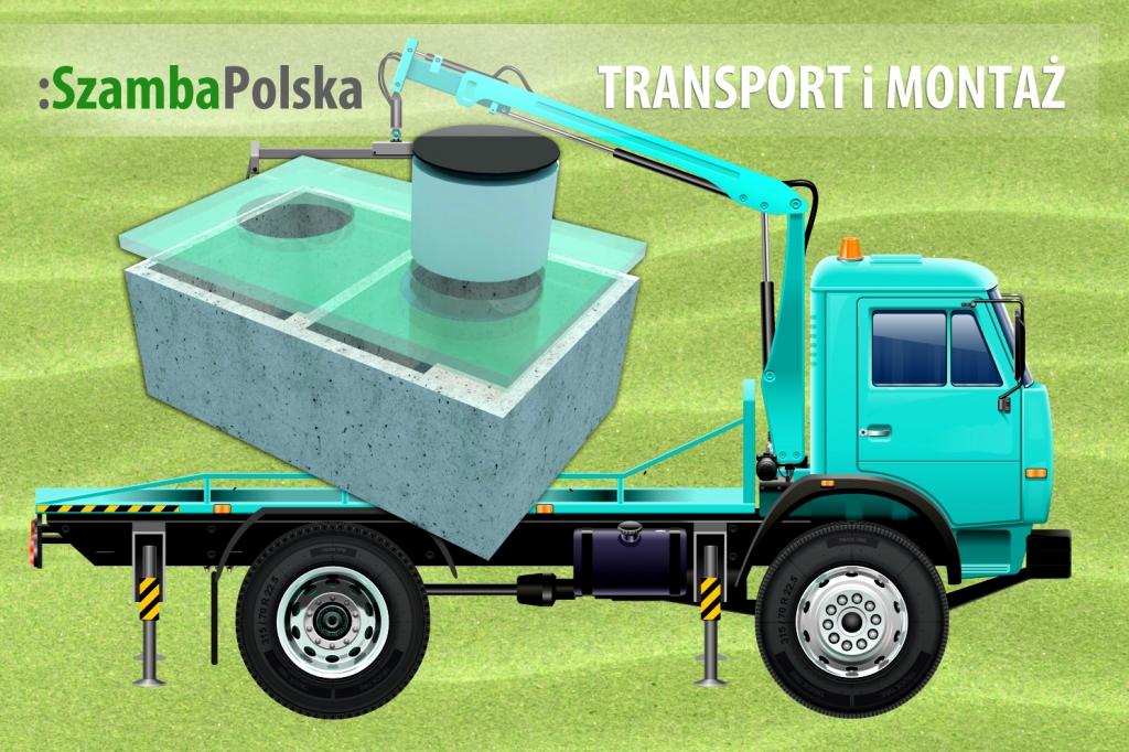 Transport i montaż szamb w SzambaPolska.pl