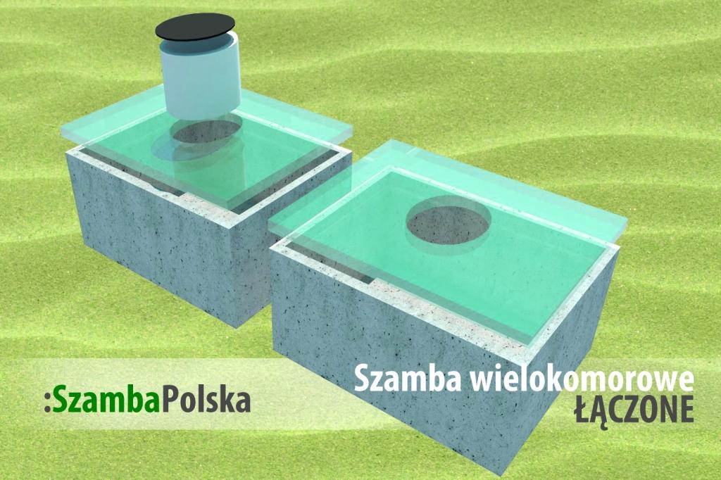 Szamba betonowe wielokomorowe łączone z SzambaPolska.pl